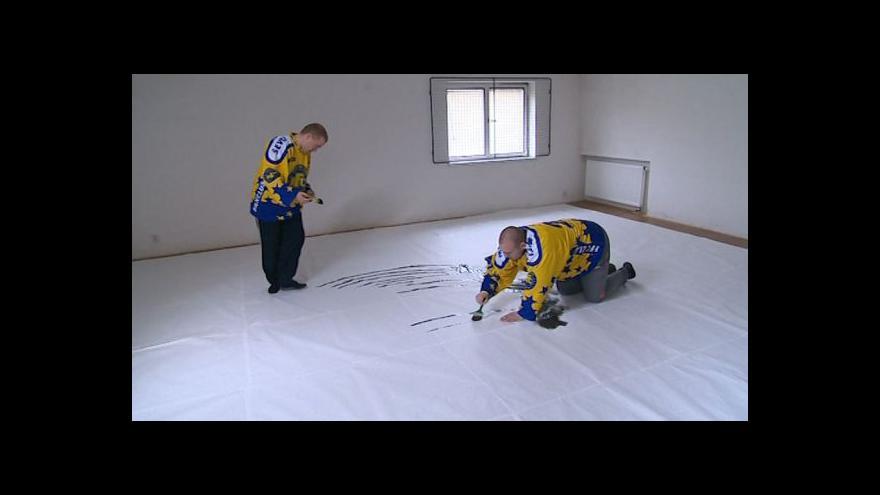 Video Fanoušek Radek Pobuda o přípravě na finálové zápasy