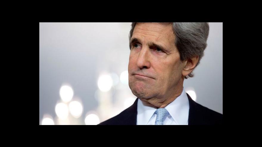 Video Kerry je na cestě po Blízkém východě