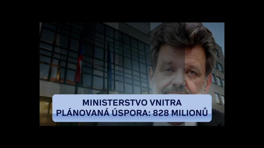 Video Plán na úspory se vládě drolí pod rukama