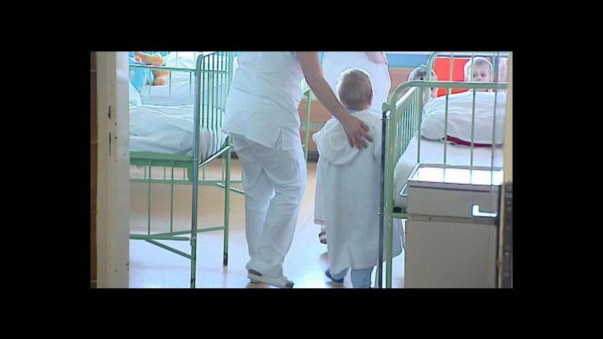Video Zrušení poplatků pro děti v nemocnicích má velkou šanci projít