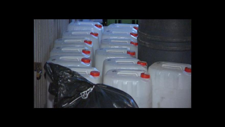 Video Události o pokračování metanolové kauzy