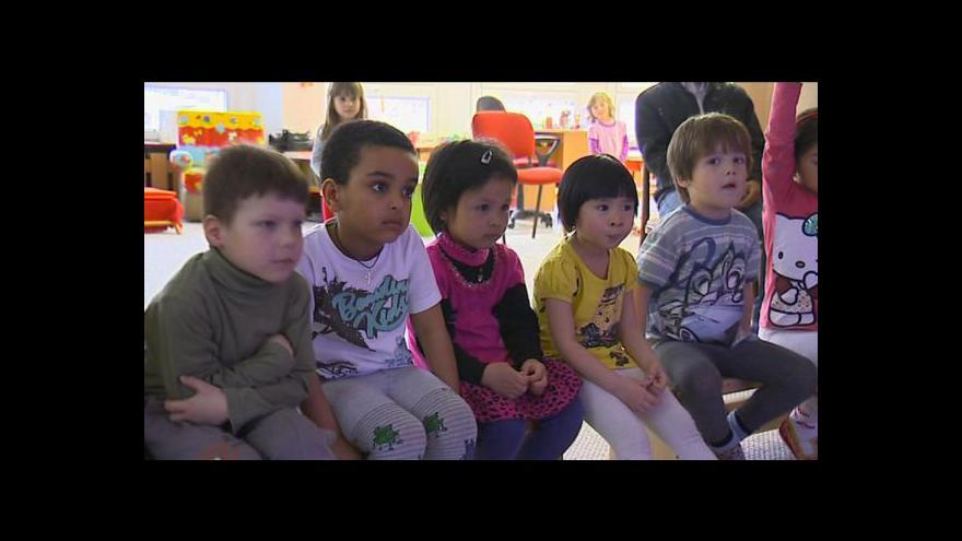 Video Petr Baraňák o interaktivní tabuli v obrnické školce