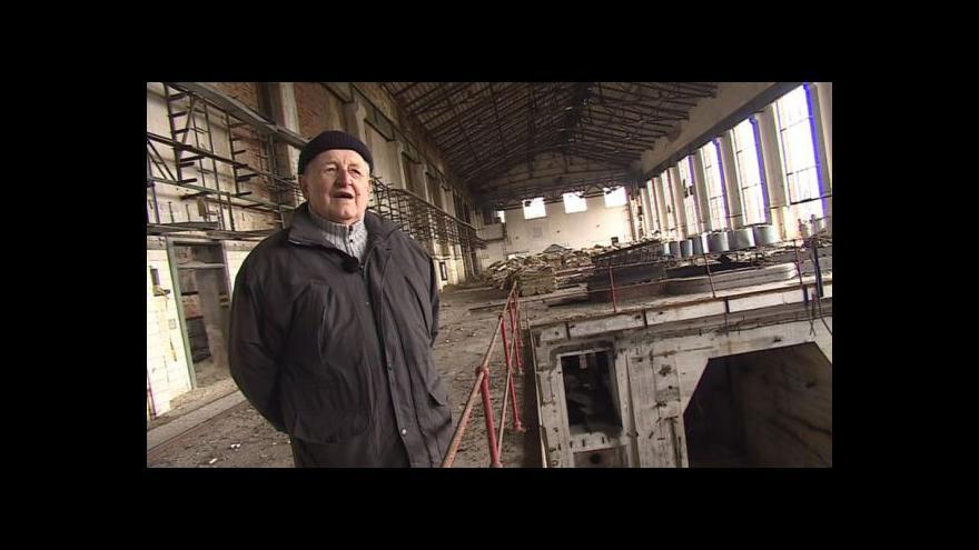 Video Na historii elektrárny vzpomíná Jan Kyselák