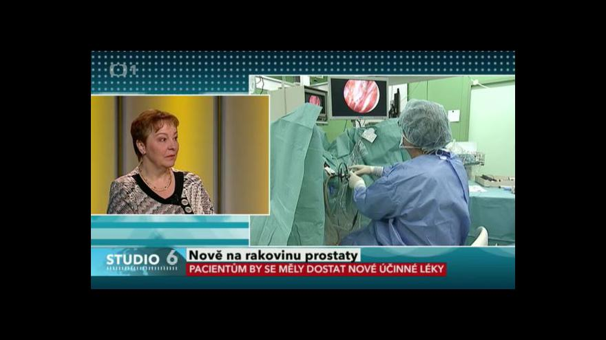 Video Onkoložka Milada Zemanová o nové léčbě rakoviny prostaty