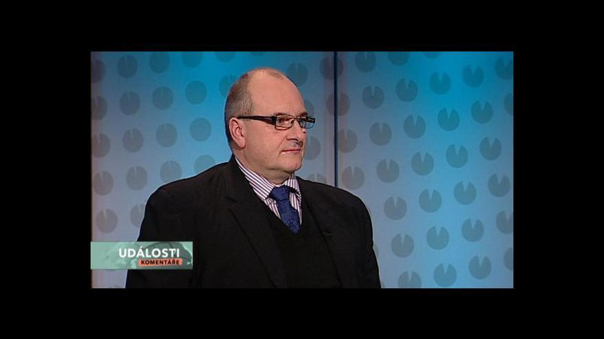 Video Vojenský analytik Martin Koller hostem Událostí, komentářů