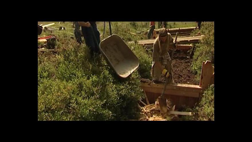 Video Veronika Kabátová o obnově šumavských rašelinišť
