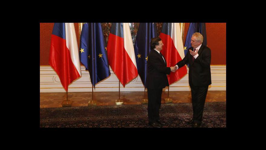 Video Barroso na Pražském hradě