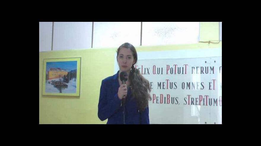 Video Reportáž Markéty Kofroňové