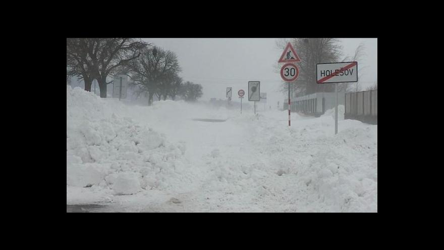 Video Události o sněhové kalamitě