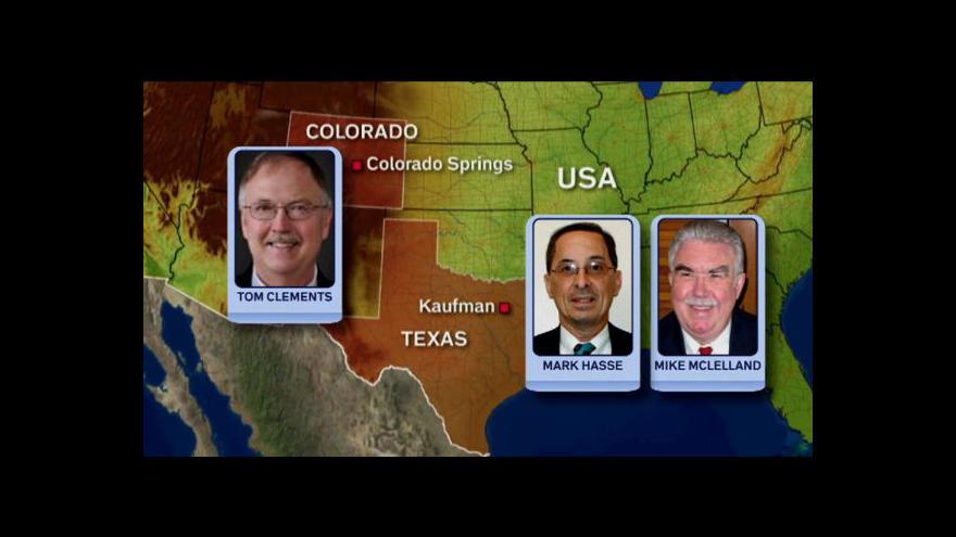 Video Události o vyšetřování vražd prokurátorů v Texasu