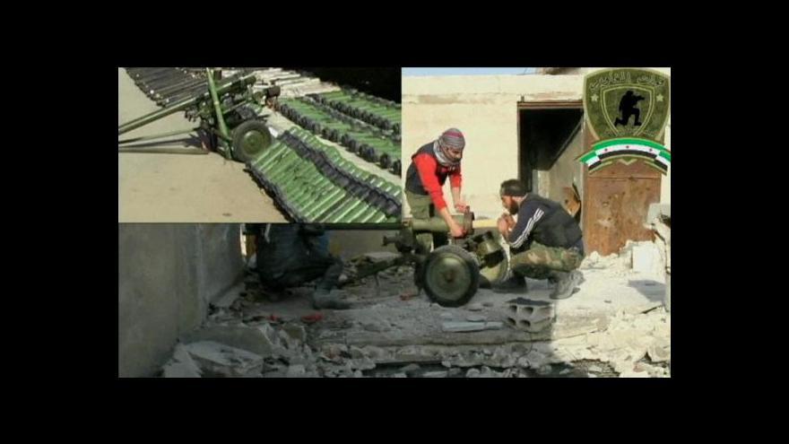 Video Události o konfliktu v Sýrii a obchodu se zbraněmi