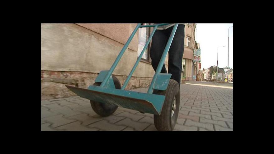 Video Přemysl Šrámek o zloději vozíků
