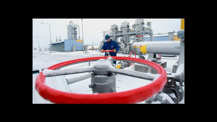 Video Levnější plyn tématem Událostí ČT