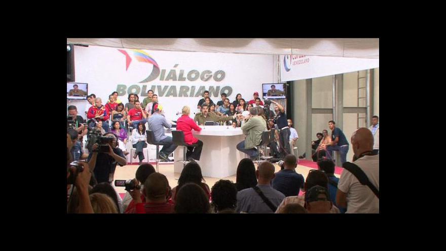 Video Začíná kampaň před volbami ve Venezuele