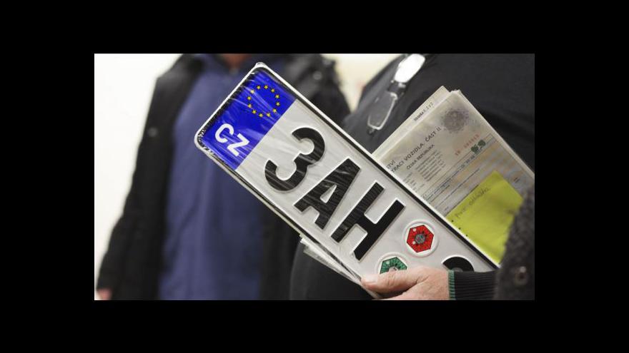 Video Registr vozidel plánovaně mimo provoz
