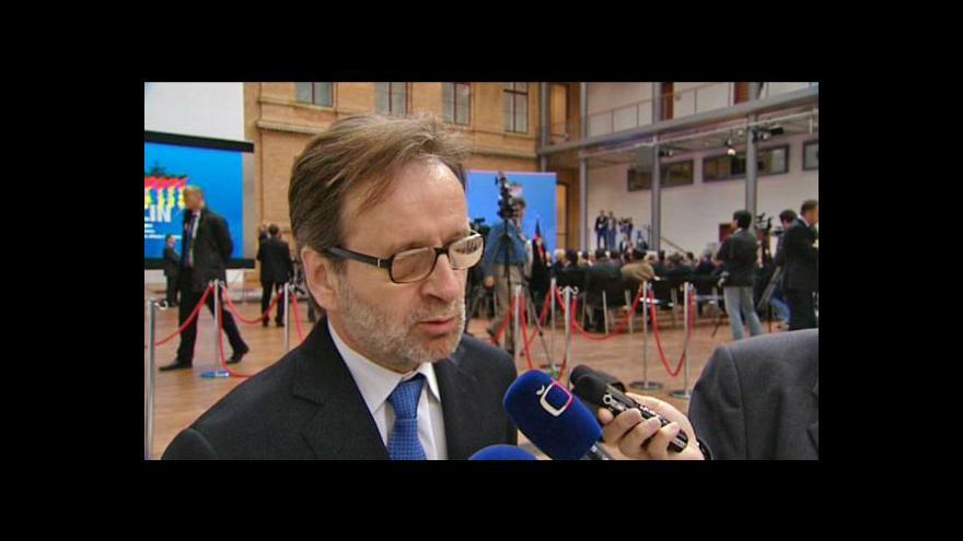 Video Rozhovor se stálým představitelem ČR při EU Martinem Povejšilem