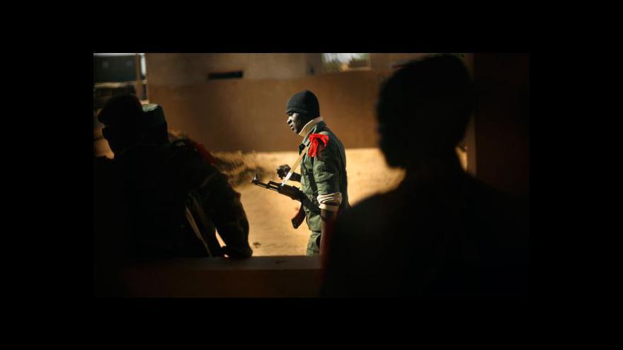 Video Čeští vojáci startují misi v Mali