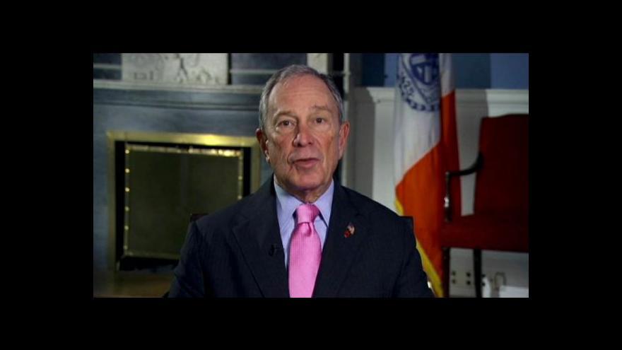 Video Bloomberg učí žít Newyorčany zdravě