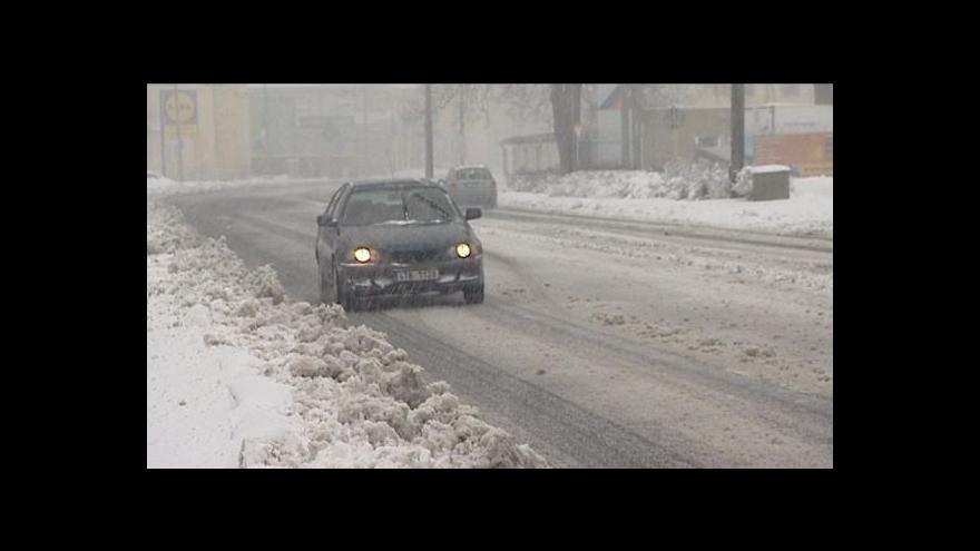 Video Sněhová kalamita tématem Událostí