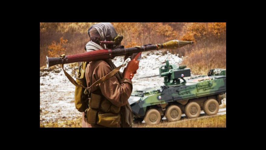 Video ČT byla u testování armádního systému aktivní ochrany