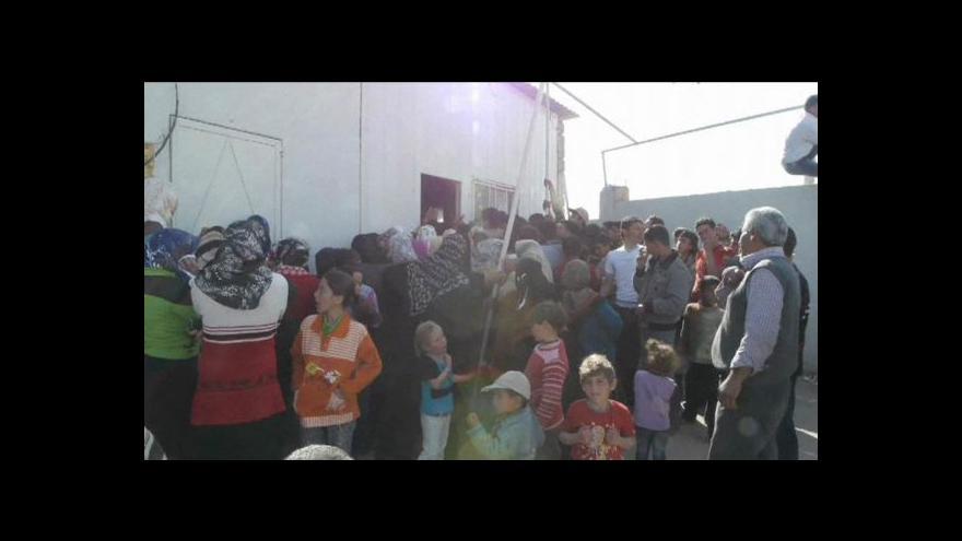 Video Syrští uprchlíci trpí zdravotními problémy