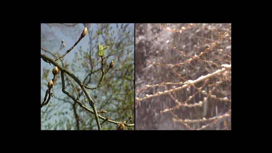 Video Události: Jaro se odkládá