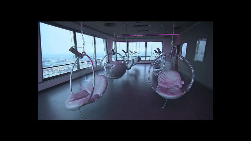 Video V žižkovské věži vznikl nový apartmán