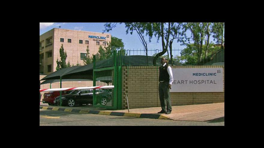 Video Mandela je znovu v nemocnici