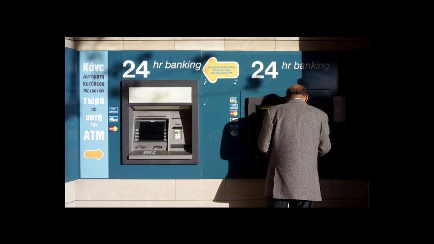 Video Otevření bank na Kypru proběhlo v klidu