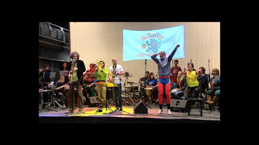 Video Pozvánka Petra Meškána na koncert The Tap Tap