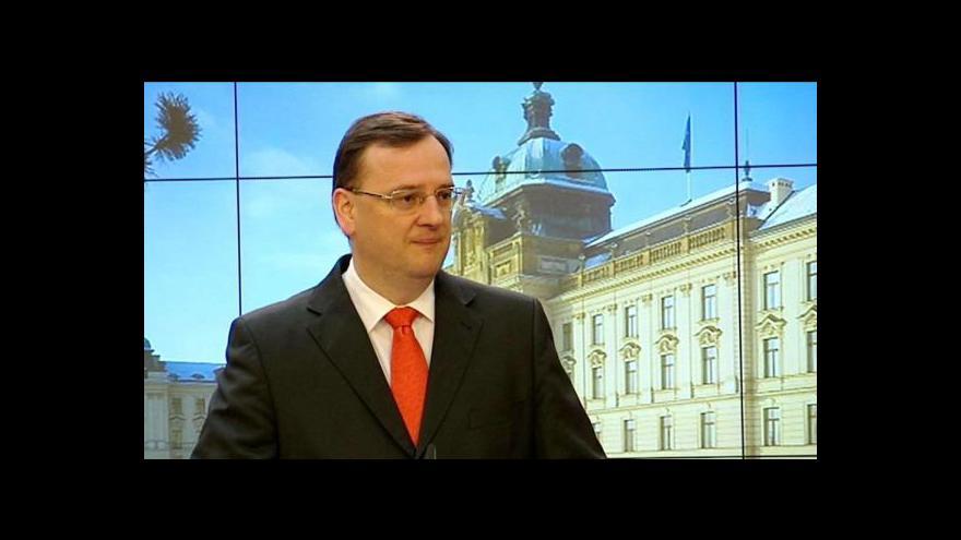 Video Brífink vlády