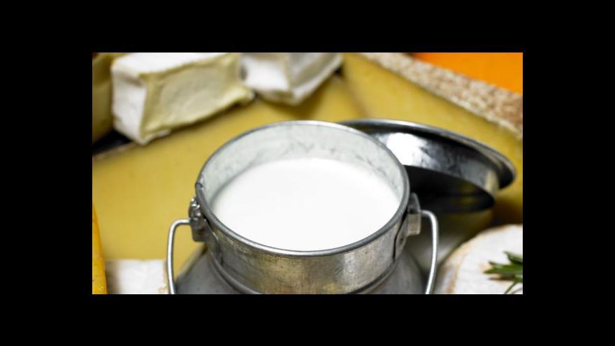 Video Spory o ceny mléka