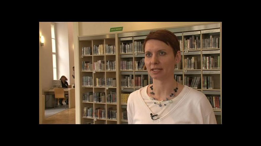 Video Jana Kuncová z Knihovny Jiřího Mahena