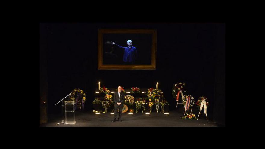 Video Reportáž  o posledním rozloučení s Vladimírem Čechem