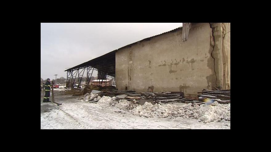 Video Kateřina Poláková popisuje způsobenou škodu