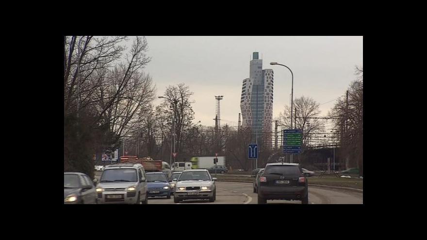 Video Nová nejvyšší budova České republiky tématem Událostí