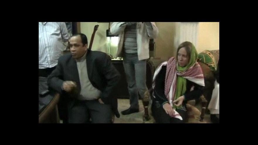 Video Dvojice turistů zajatých v Egyptě je v bezpečí