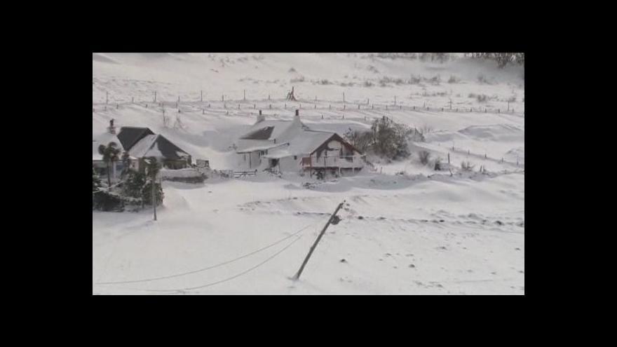 Video Evropa dál trpí kvůli zimnímu počasí