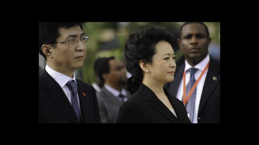Video První dáma Číny se představila světu