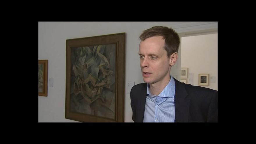 Video Nový ředitel Moravské galerie Jan Press o budoucnosti galerie