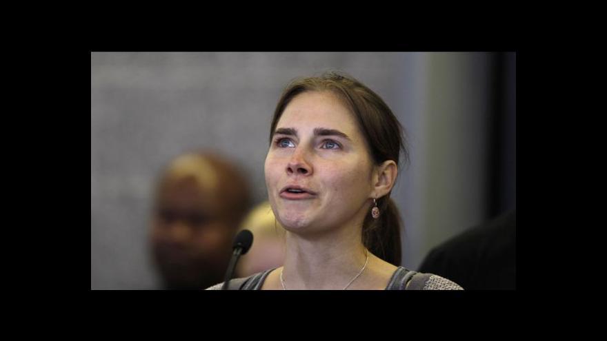 Video Případ Knoxová se vrací k soudu