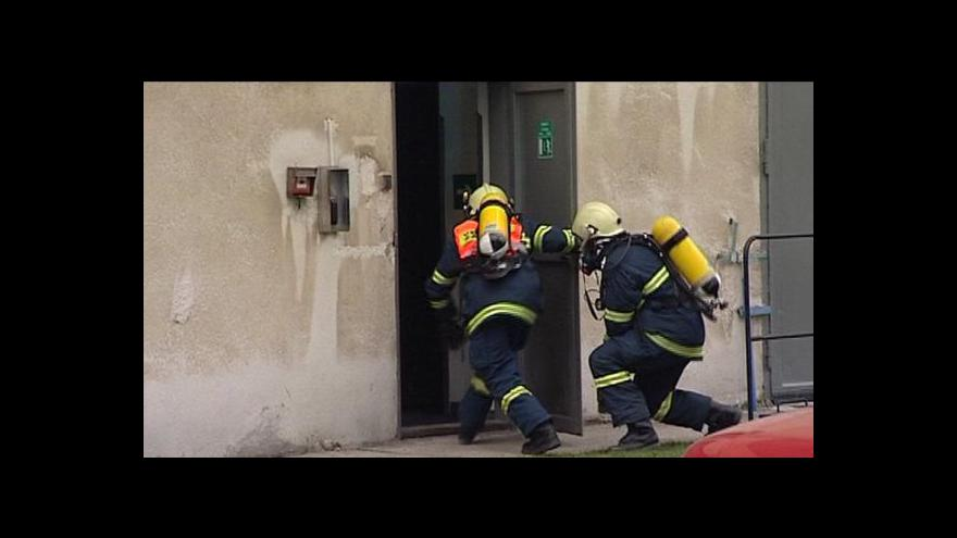 Video Mluvčí JE Dukovany Petr Spilka o cvičení Zóna 2013