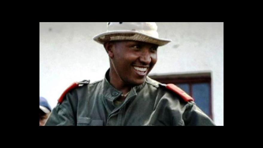 Video Vůdce konžských rebelů stane před soudem v Haagu