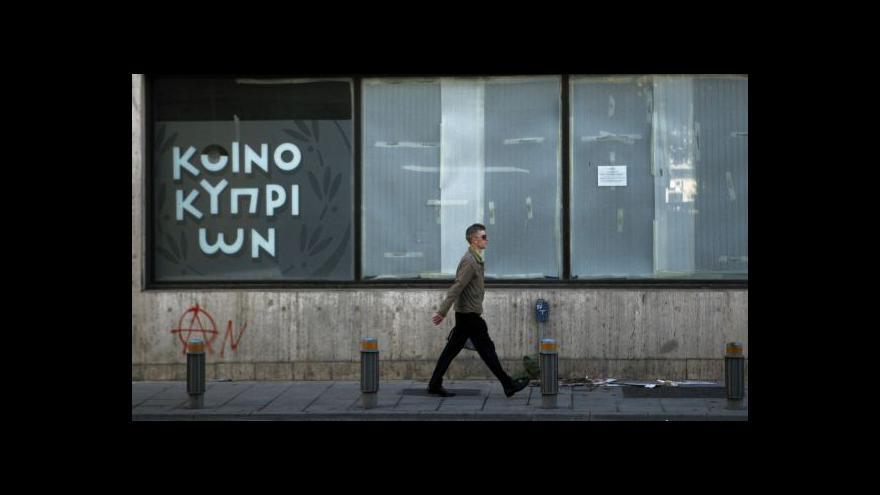 Video Kypr zatím nezbankrotuje