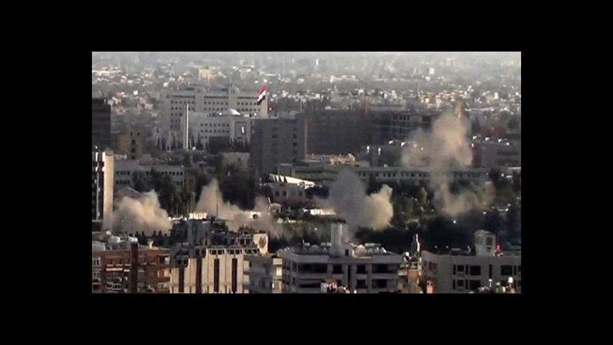 Video Použila Asadova armáda chemické zbraně?