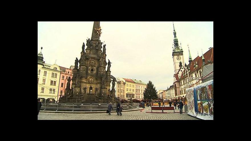 Video Teplo a zima v Olomouci