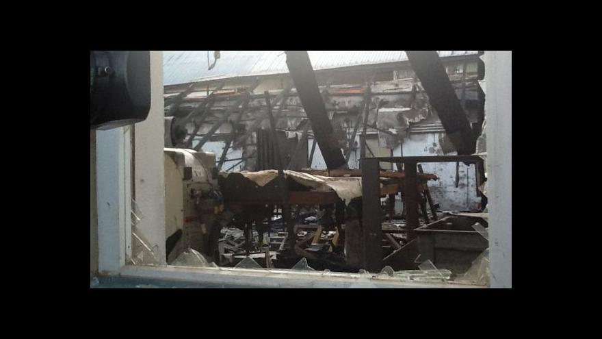 Video No comment: Následky požáru