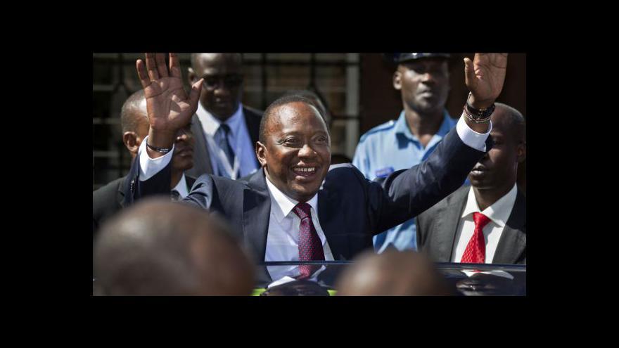 Video V Keni složí přísahu nový prezident