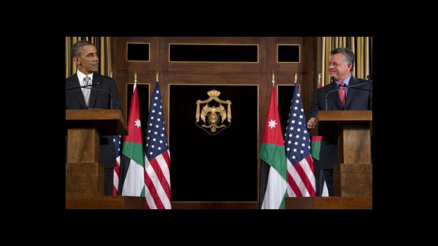 Video Syřané mohou dál utíkat do Jordánska
