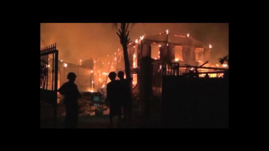 Video Nepokoje v Barmě